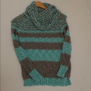 Justice cowl neck sweater